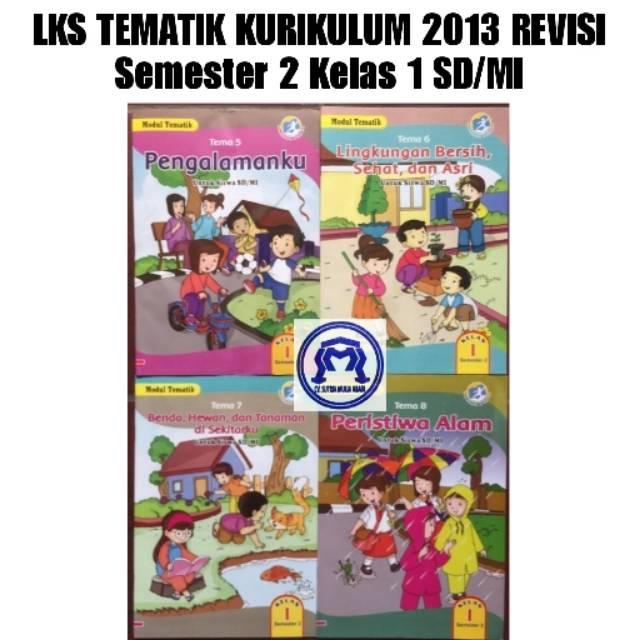 Tematik Terpadu 2d Hidup Bersih Dan Sehat Sdmi Kelas Ii K13n