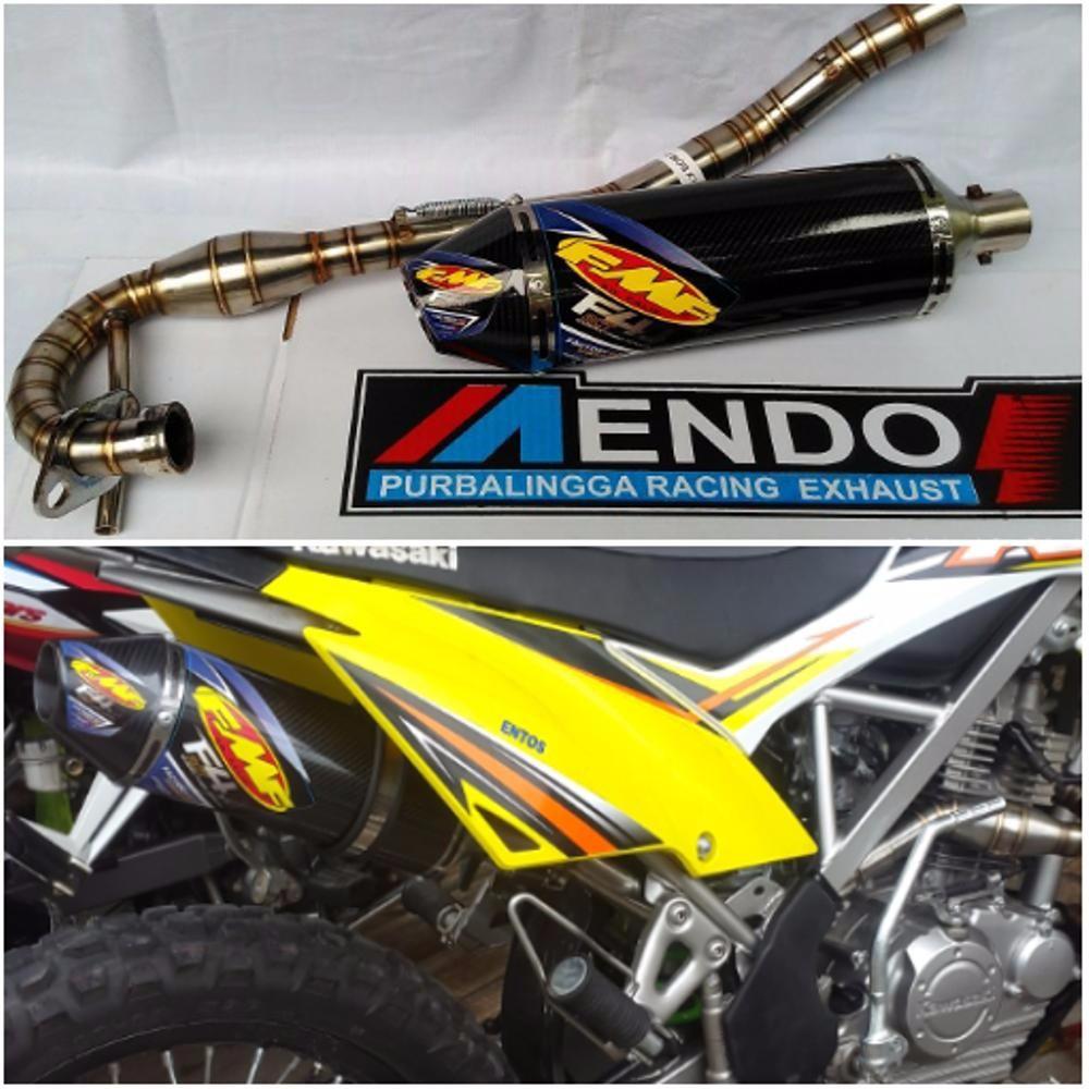 Knalpot Racing R9 Mugello Fullsystem Leher Cacing Klx 150 S L Bf Full System New Yamaha Byson Dtracker Shopee Indonesia
