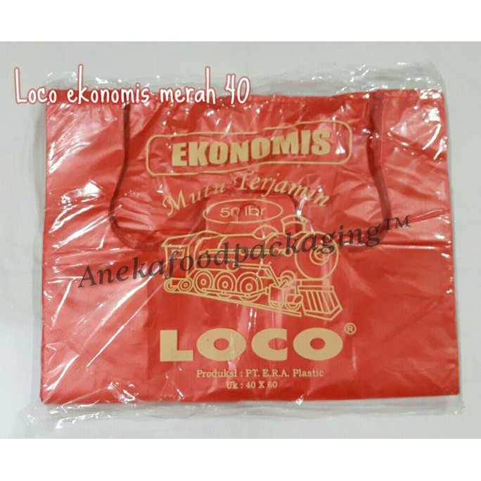 Kantong Plastik Loco Hitam Ekonomis Uk. 15 (isi 50 pcs)   Shopee Indonesia