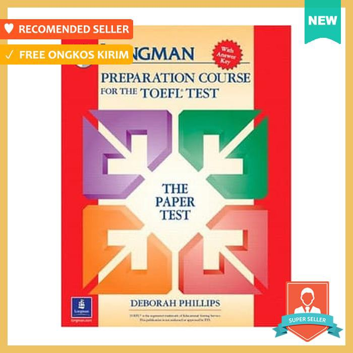 Longman Preparation Course For The Toefl Test With Answer Key Shopee Indonesia