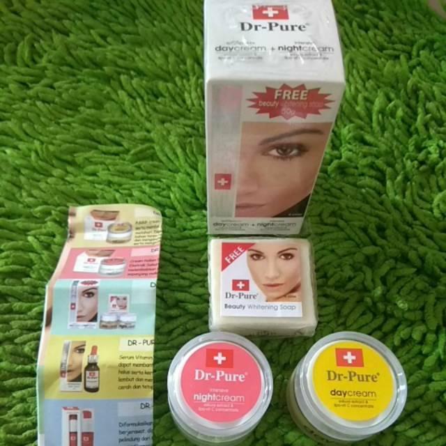 AURA BEAUTY paket beauty komplit isi 4 item cream pagi cream malam facial wash serum whitening BPOM | Shopee Indonesia