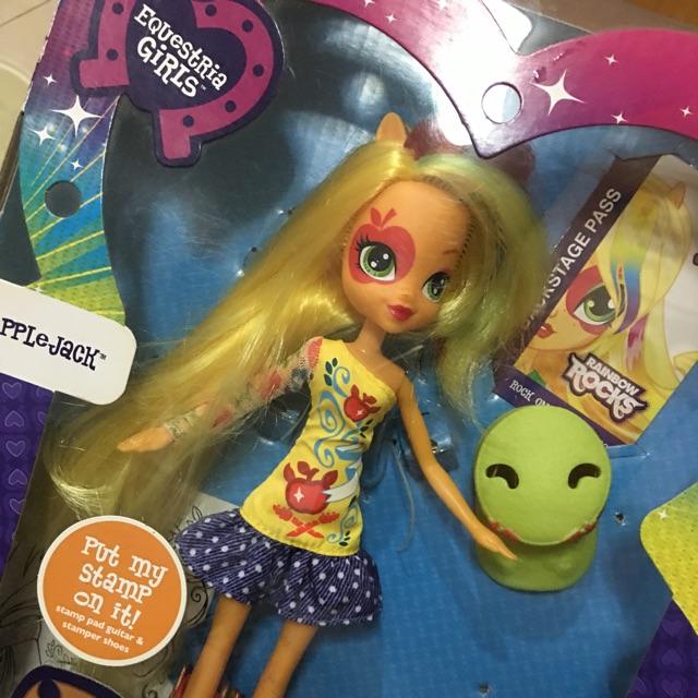 My Little Pony Equestria Girls Boneka Doll Rainbow Rocks Friendship Is Magic Shopee Indonesia