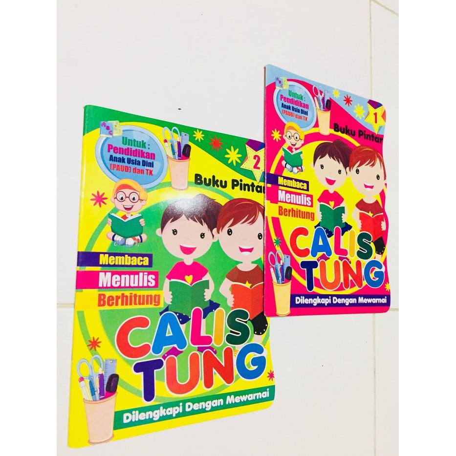 Buku Anak Tk Paud Terbaru Terbaik Buku CALISTUNG Untuk Anak TK SD Belajar Membaca Menulis