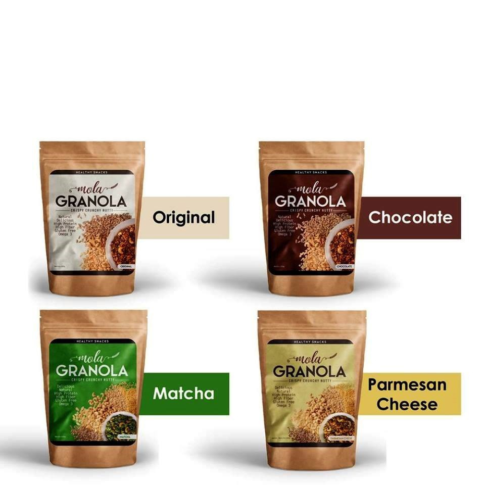 Paket 2 Homemade Granola 250gr Matcha Ori Shopee Indonesia Chiayo Original