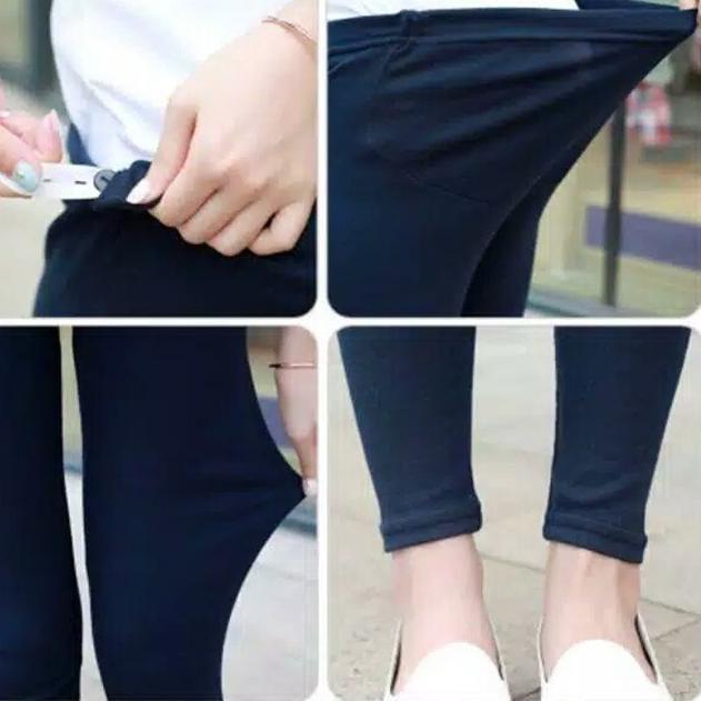 Dijamin Miring Harga Celana Hamil Legging Hamil Wanita Leging Hamil Ibu Bumil Maternity Pants Fsl1 Shopee Indonesia