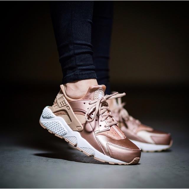 Nike For Woman Air Huarache Rose Gold