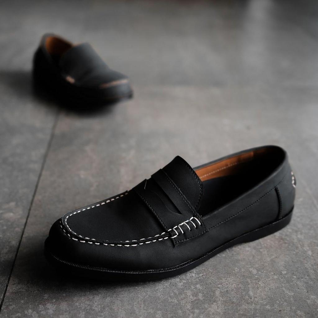 Dr Kevin Soft Comfortable Men Slip On 9309 3 Color Navyblue Ampamp 9307 Grey Black Shopee Indonesia