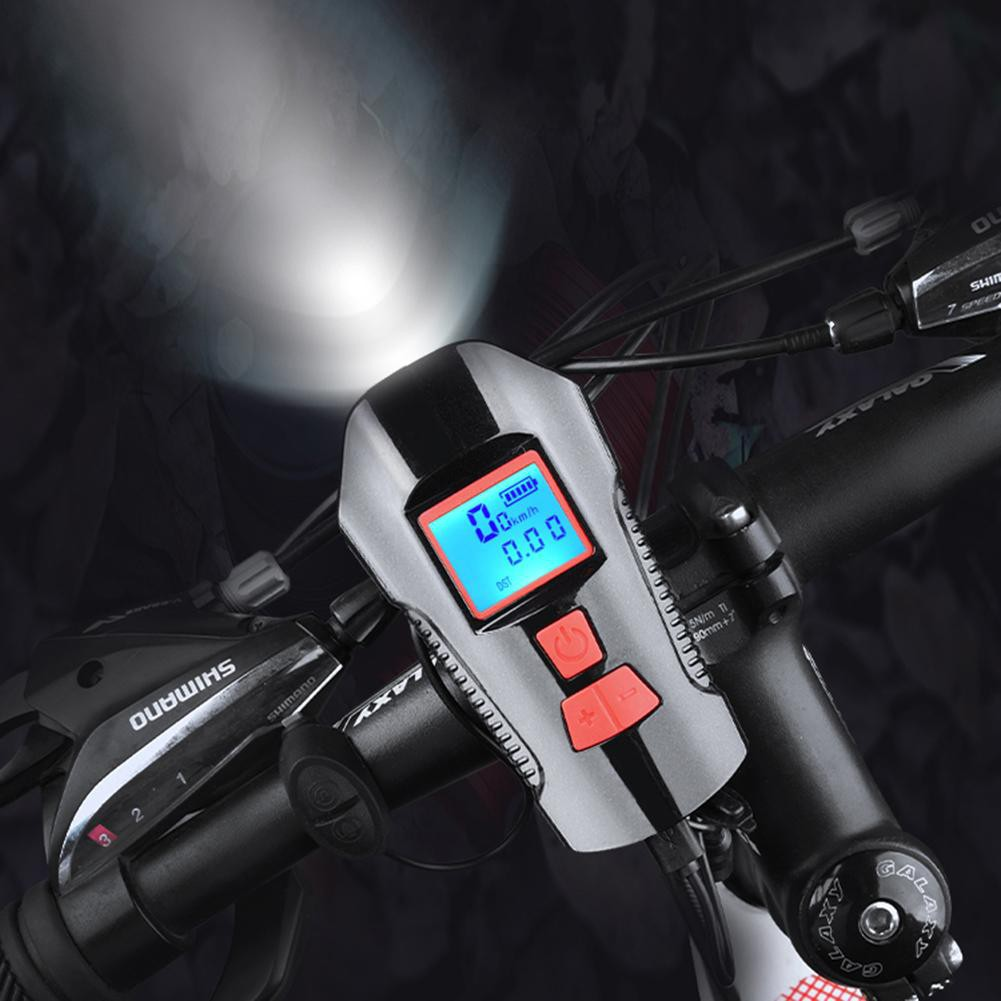 Rainproof E-Bicycle front light horn turning light Switch For Bicycle handlebar