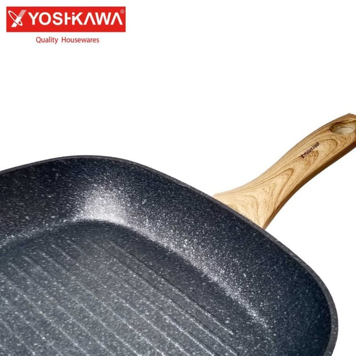 Grill Pan Marble Grill Pan BBQ Grill Pan Yakiniku Grill pan 24 Cm Grill pan 28 Cm Yoshikawa