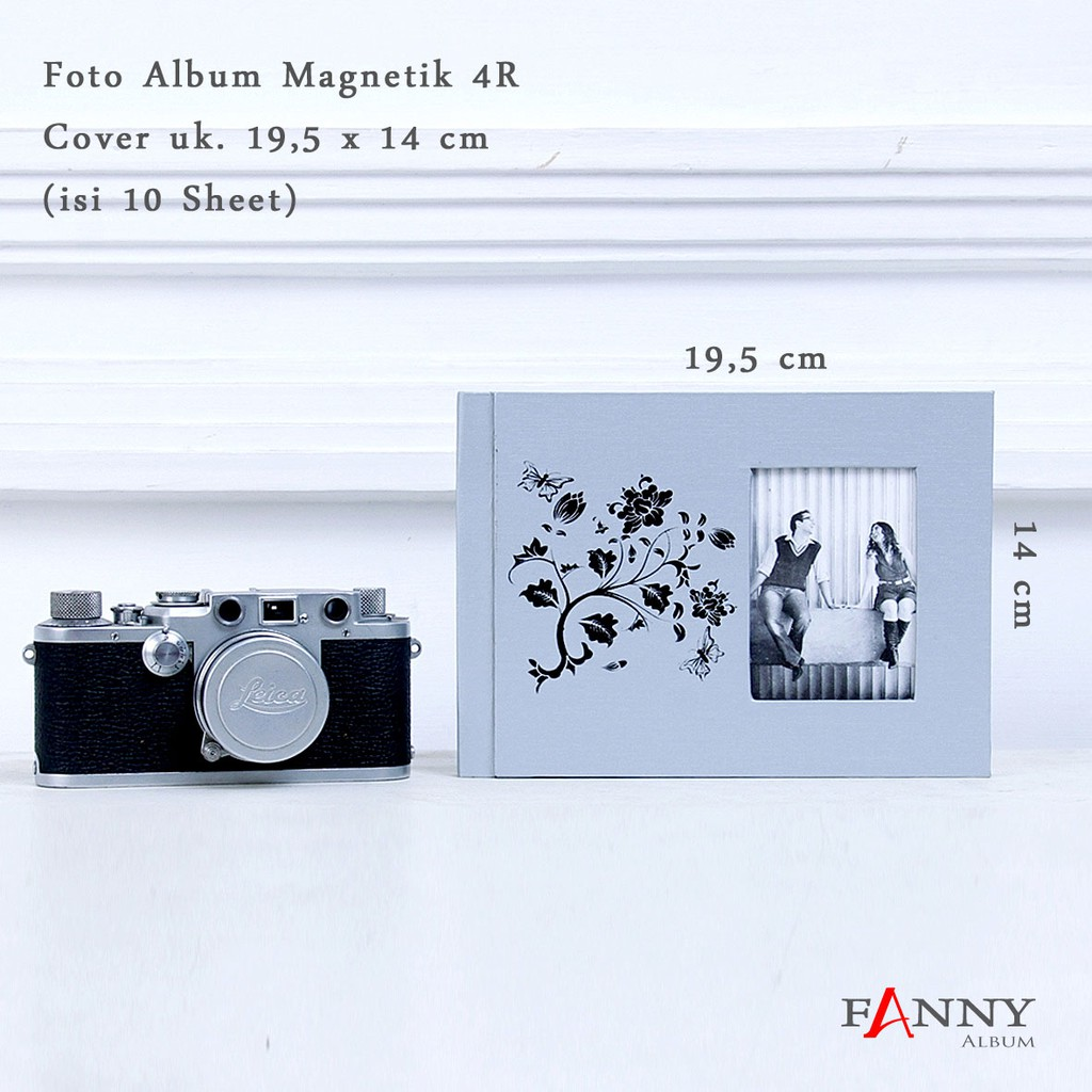 Album Foto 4r Mmb4rh Share The Love Shopee Indonesia Magentic Jumbo Doubletone