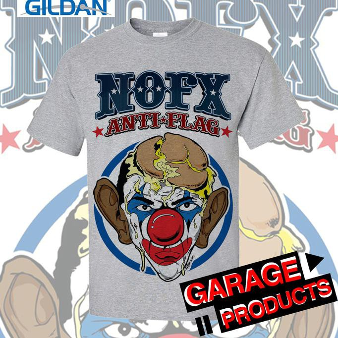 Super Baru-Super Murah-Kualitas Super#New Nofx - Anti Flag Kaos Band Original Gildan | Shopee Indonesia