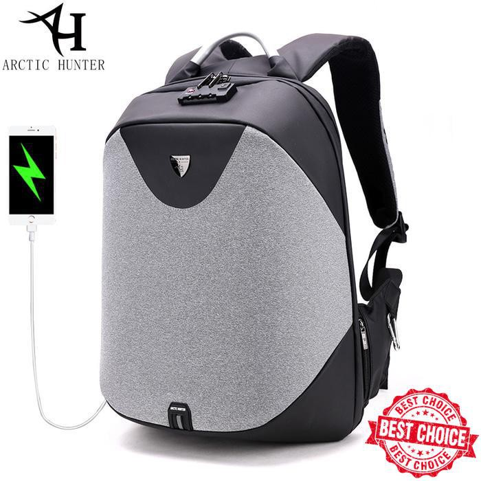 Arctic Hunter Tas Ransel Laptop Premium Executive Winter Oxford Backpack AH- WR - Hitam. Source · Dapatkan Harga undefined Diskon | Shopee Indonesia -.