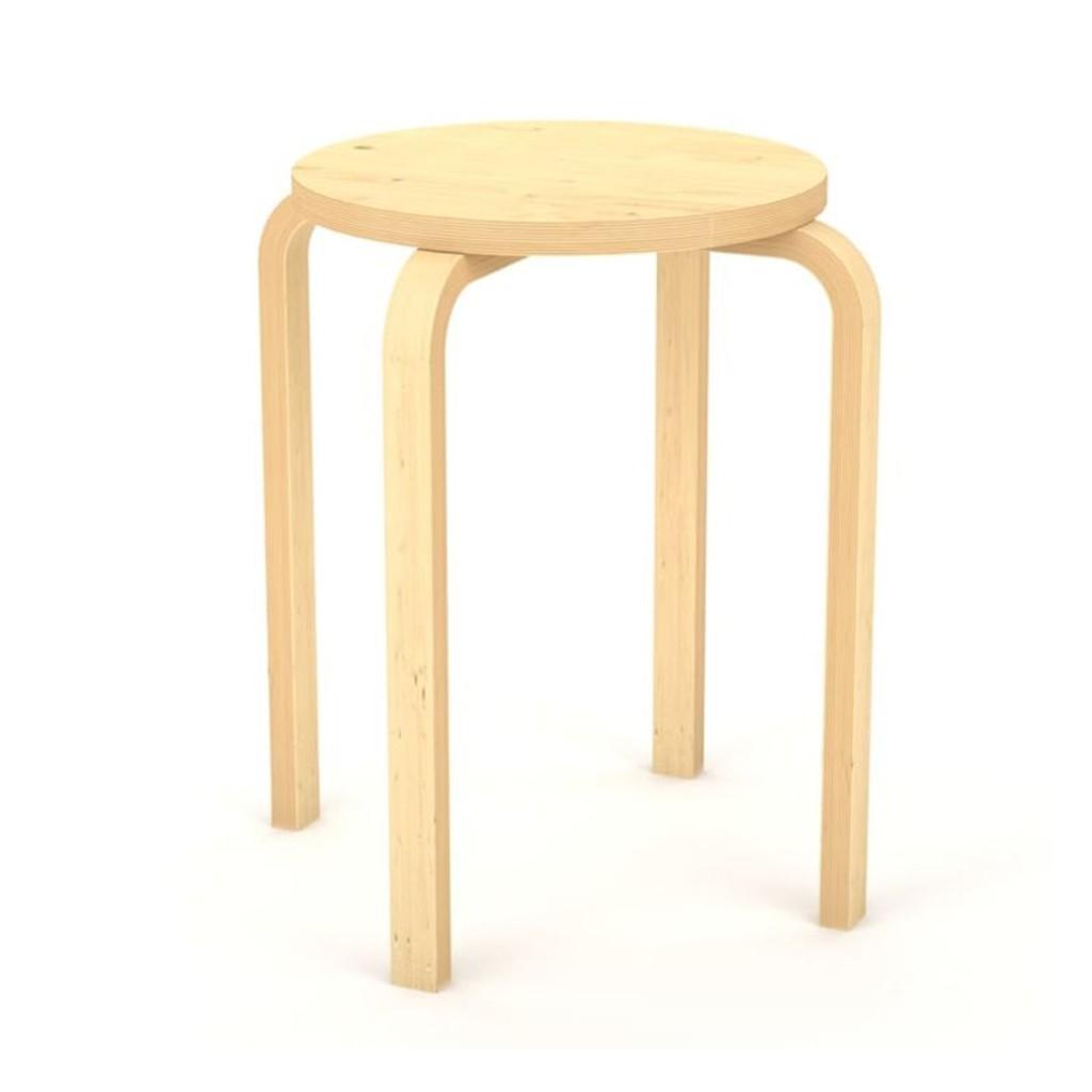 Ikea Frosta Stool Bangku Papan Lapis Kayu Birch Harga Untuk 1 Pc