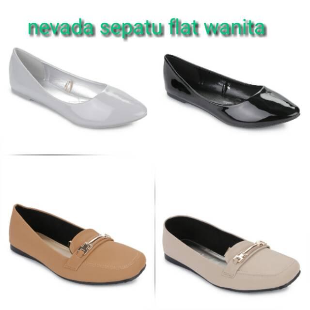 Nevada sepatu flat shoes  7d1becb0a6