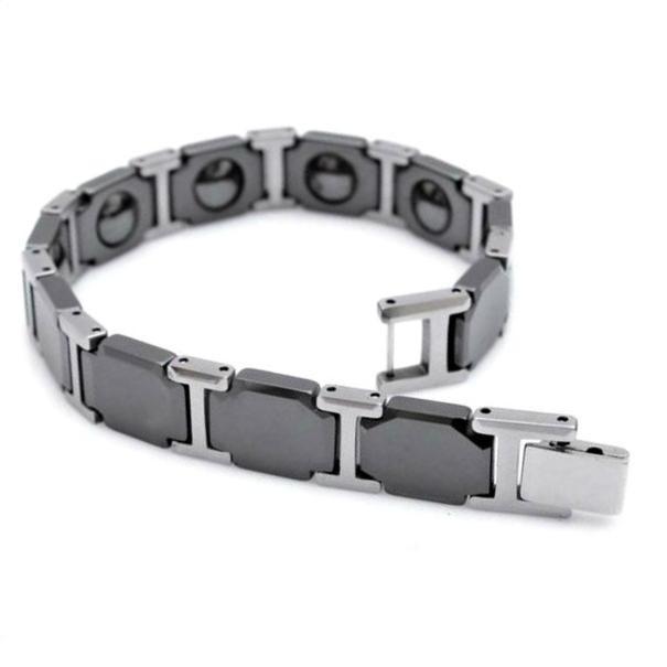 Energy Magnetic Stainless Steel Bracelet Gelang Kesehatan Pria Wanita #121 | Shopee Indonesia