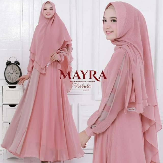 Gamis Mayra Dress Syari Shopee Indonesia