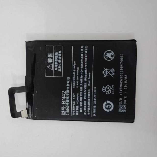 Batre batere baterai Xiaomi Redmi 4 BN42 Original Oem
