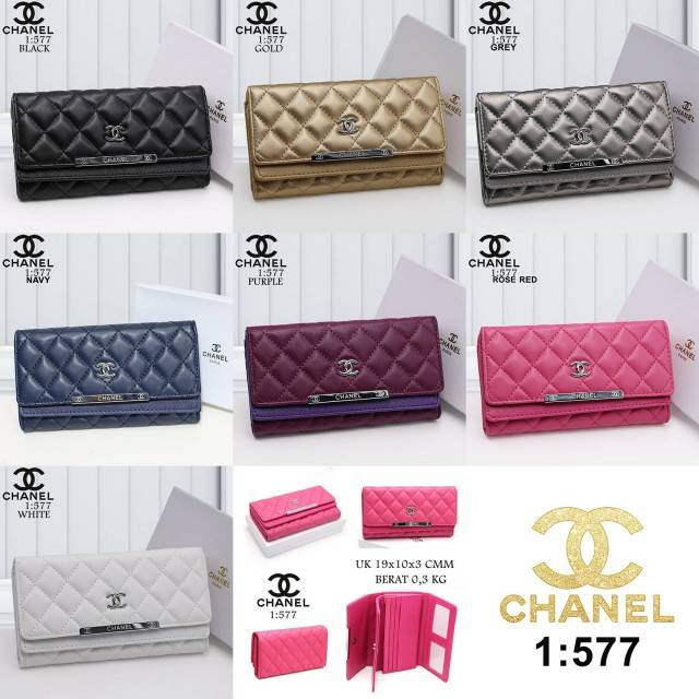 DOMPET CHANEL 577 SUPER  1f2caa18be