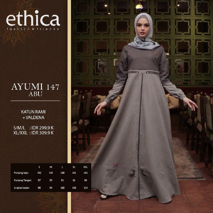 Sisa Dikit Buat Lebaran Idulfitri 2020 Baju Wanita Gamis Ethica Ayumi 147 Shopee Indonesia