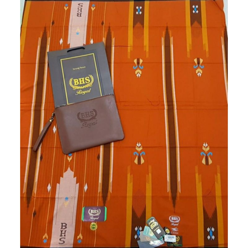 SARUNG BHS ROYAL GOLD STG MERCERIZED LIMITED EDITION