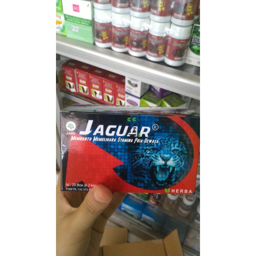 Kapsul Jaguar Untuk Menjaga Stamina Pria Dewasa Shopee Indonesia Urat Madu Black Ori Menambah