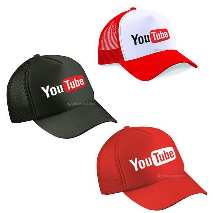BERKUALITAS!!! Topi Snapback YOUTUBE   YOU TUBE   YOUTUBERS  498384d3d0