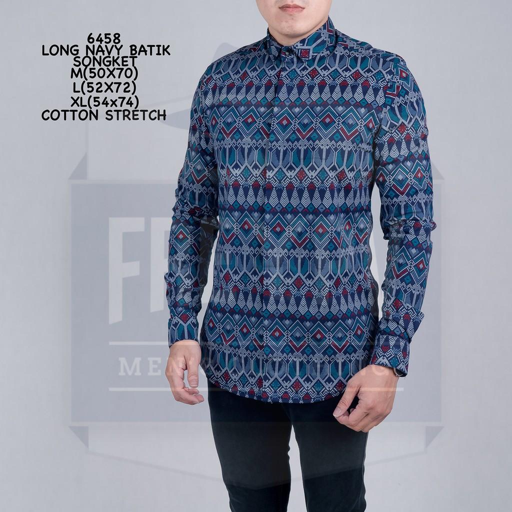 Baju Batik Pria Kemeja Pesta Pria Hem Pria Kemeja Lengan Pendek Kain Batik   03320a0bd7