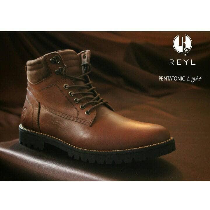 FREE BONUS !!! sepatu Boots murah REYL original safety (Kulit asli ... f73159f049