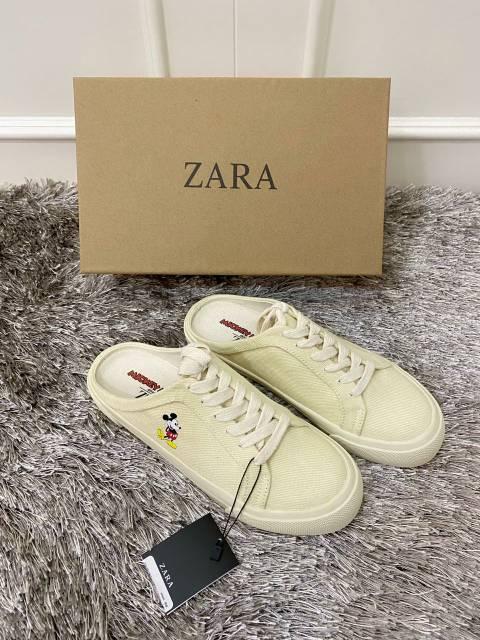 Sepatu Zara Mickey Mouse Zara X Disney Sneaker Zara Sepatu