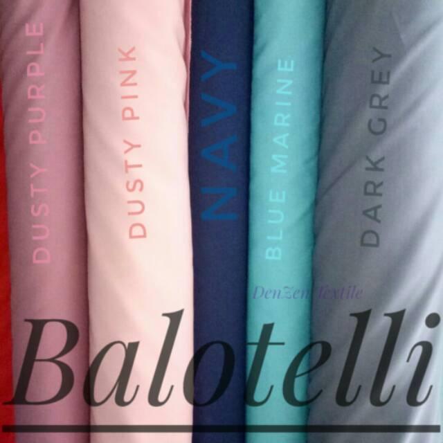1 2 Meter Bahan Kain Gamis Balotelli Premium by HijabersTex  c9ac427379