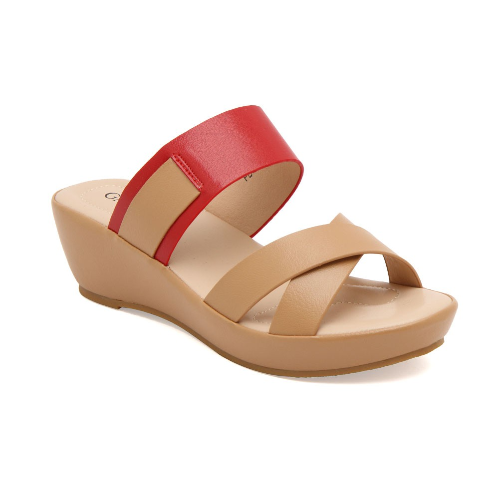 Info Harga Heels Sandal Wanita Gabino Samantha Cream Beige 40 Inside Finsa Red Merah Yumna Pink Purple Black Tan Shopee Indonesia