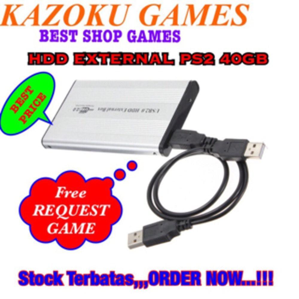 Playstation 2 Fat Matrix Hdd Eksternal 40gb Shopee Indonesia Hardisk External Ps2