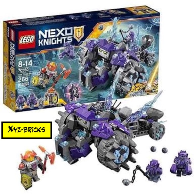 Knights 70350 Lego The Three Nexo Brothers P80wnOk