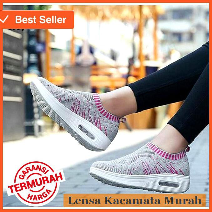 Clarisse Sneakers Putih Wanita Murah FRANCE KUMIS REALPIC Original Sepatu  Kets Sport Casual White  e5f708dcb6