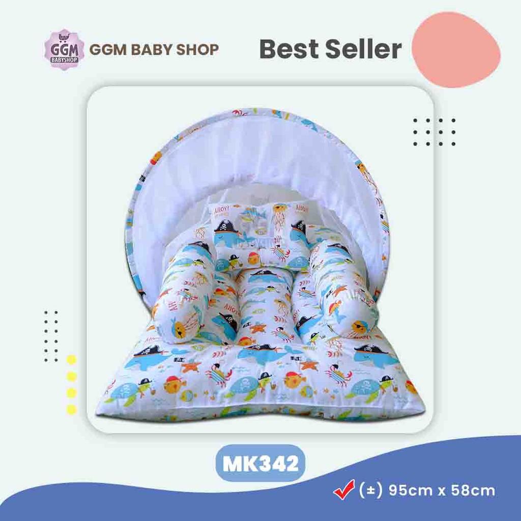 Kasur Bayi Set Murah Perlengkapan Bayi Unik Set Kasur Bayi Kelambu Tempat Tidur Bayi Shopee Indonesia Tempat tidur bayi unik