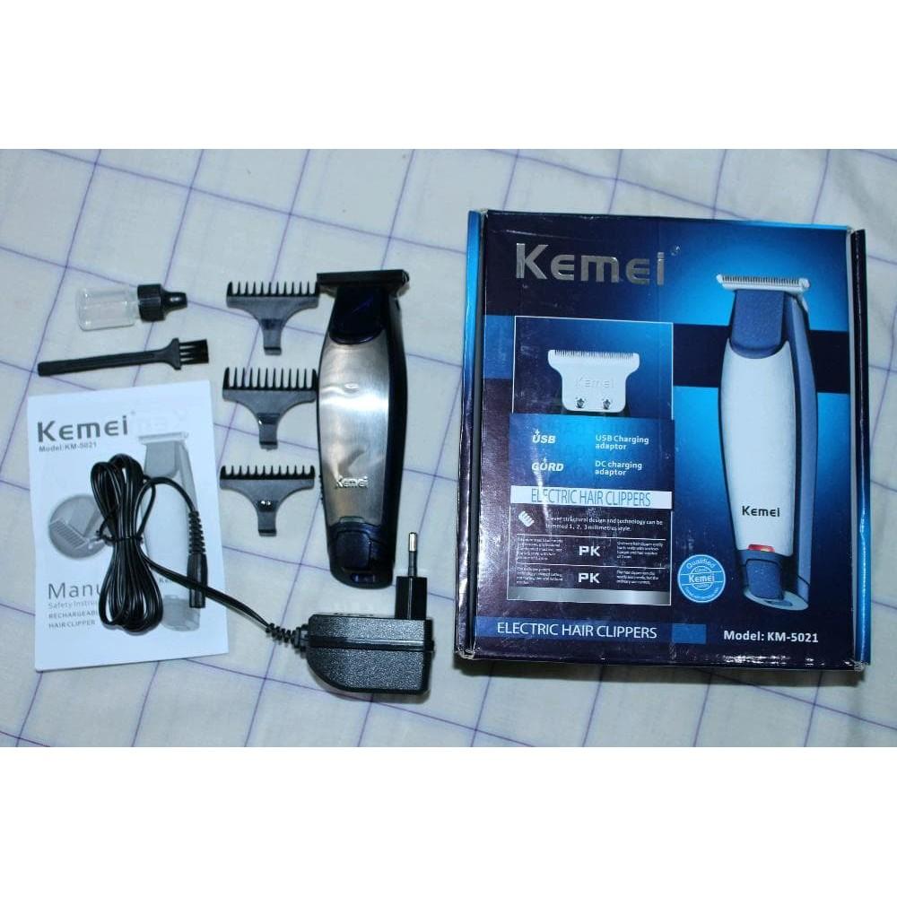 Hair Clipper Kemei Detailer KM-5021 Alat Mesin Cukur Rambut Cordless ... 4abc5194fe