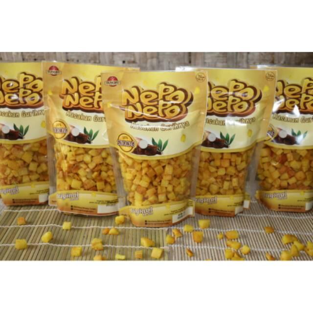 Keripik Singkong Dadu Khas Minang Asli Resep Minang Nepo Nepo Varian Original Dan Hot Spicy Ku Shopee Indonesia
