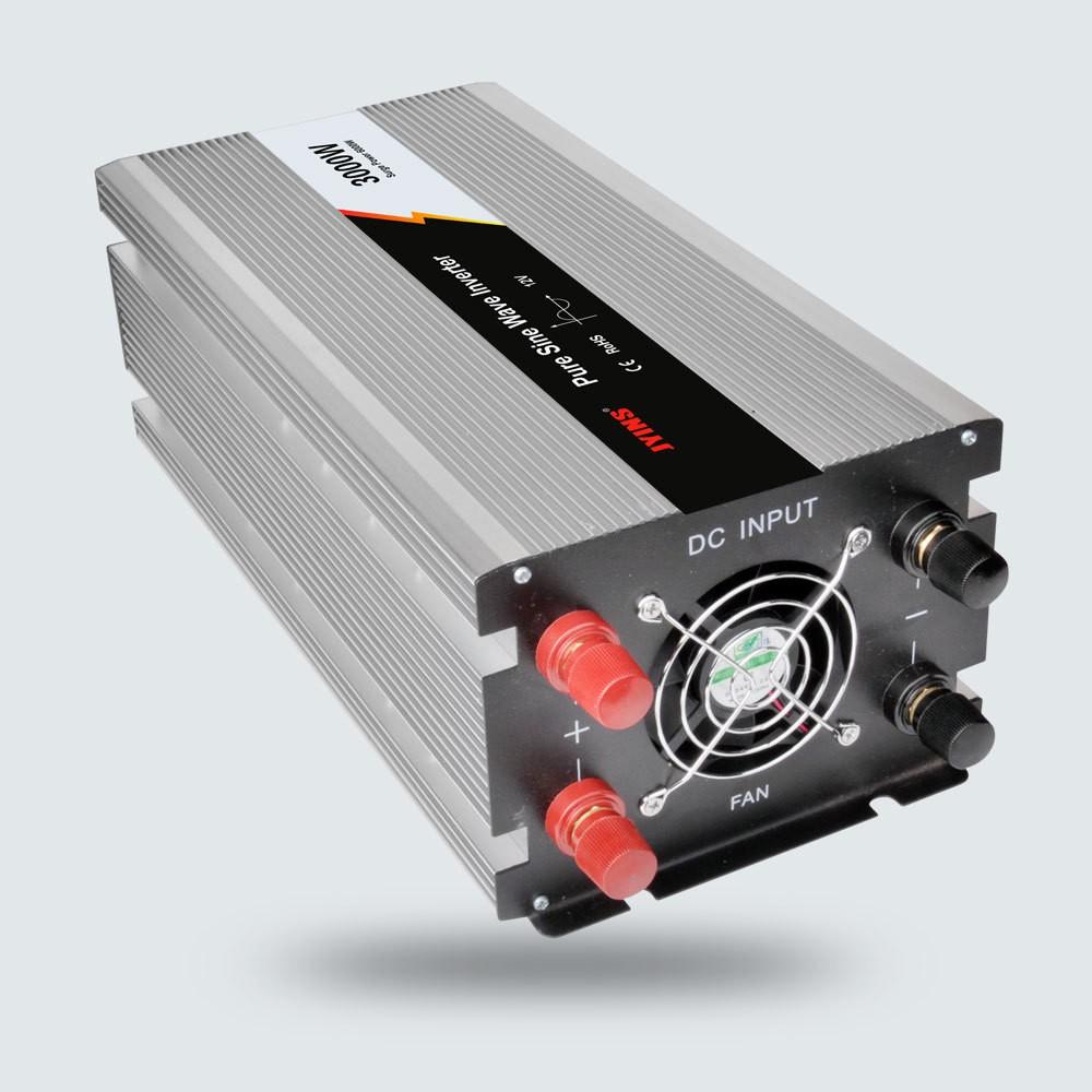 Pure Sine Wave Inverter 12V Converter 220V 600W Power Inverter W// Solar Panel