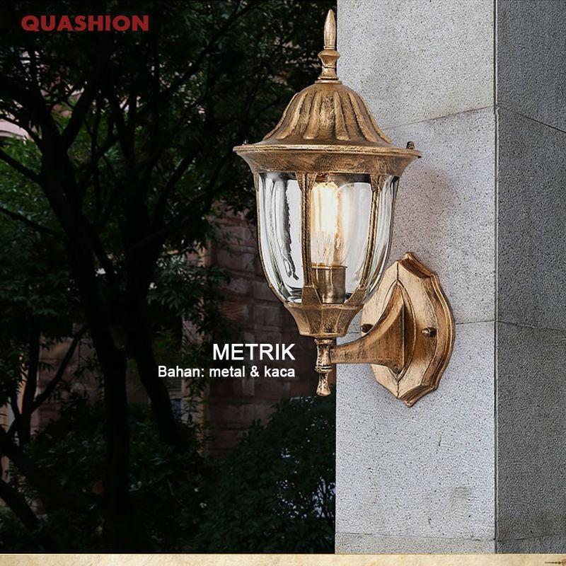 Lampu Dinding Outdoor Minimalis Lampu Tempel Lampu Taman Klasik Lampu Pilar Gb6118 S Shopee Indonesia