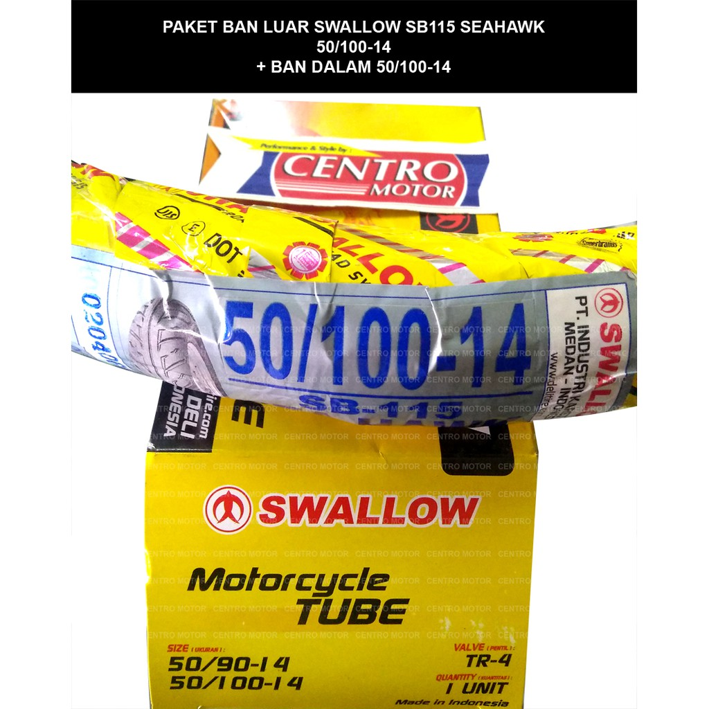 Ban Swallow 50 100 14 Sb115 Tt Shopee Indonesia Dalam 90