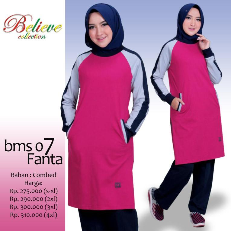 Baju Olahraga Muslim Believe BMS 09 Misty  ed592b4532