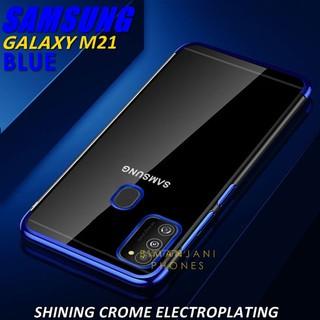 Samsung M31 - M21 - M20 - M10 Soft Case Shining Crome ...