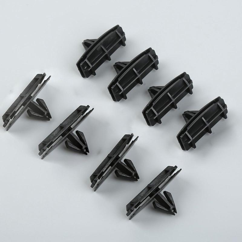 30x Bumper Fender Clip Blk Nylon Retainer Plastic Rivet For Jeep JK 68039280-AA