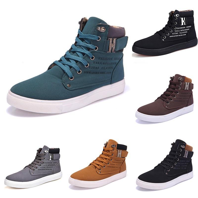 Bayar Di Tempat FG Sepatu Sneaker Untuk Pria Bahan Kulit Nubuck Gaya  Kasual Untuk Musim Gugur  81badbfb7d