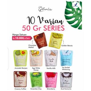 50GR Lea Gloria Masker Wajah Bubuk Organik BPOM thumbnail