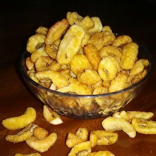 Kripik pisang Super kremes/ kripik Pisang enak