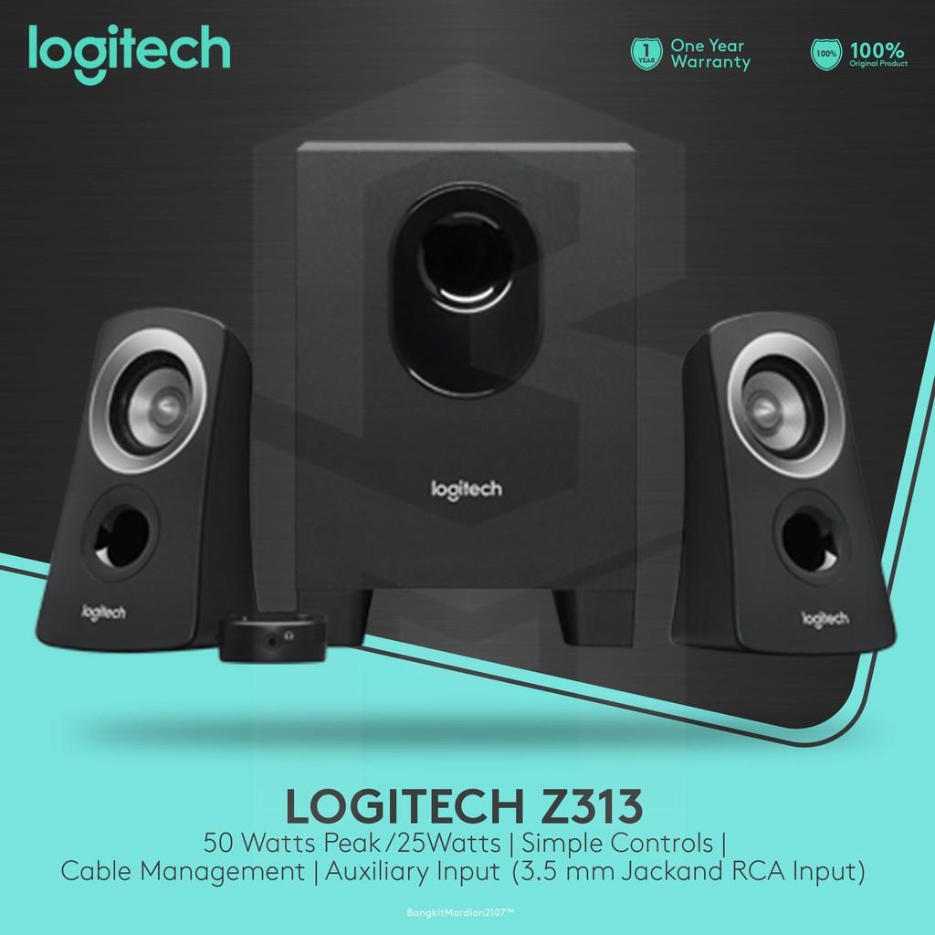 Logitech Z313 Multimedia Speaker System Garansi Resmi Shopee Swans Hivi M50w 21 Indonesia