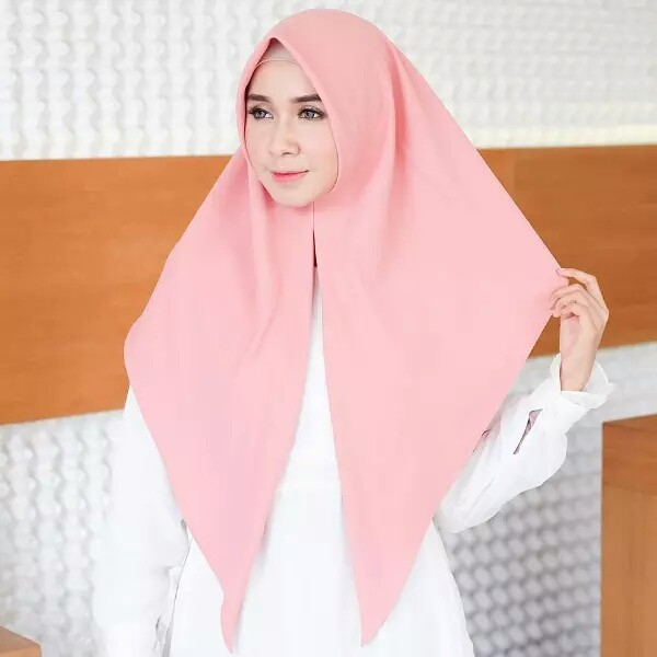 Jilbab Segitiga Instan Hijab Segi Tiga Instant Wolfis Khimar Bergoi Shopee Indonesia