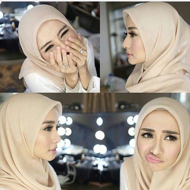 Daily Hijab Square Potton Bella Square Shopee Indonesia
