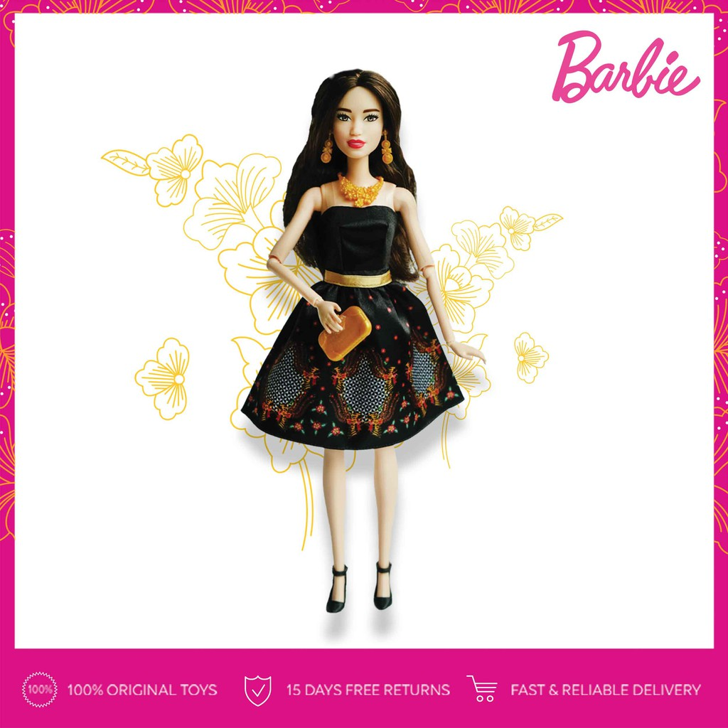 LIMITED EDITION  Batik Barbie Kirana Fashion Doll (Design by Iwan Tirta)  2d2269ab15